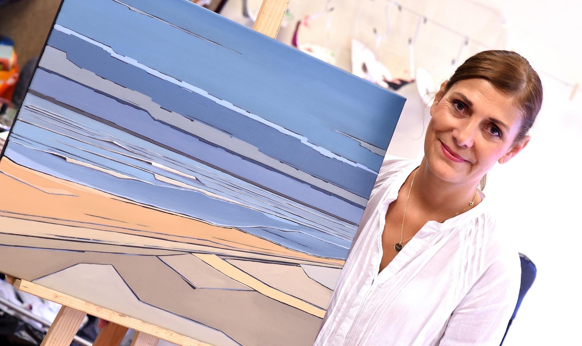 Mer et Structure : Christine Zima expose à l'espace Landowski