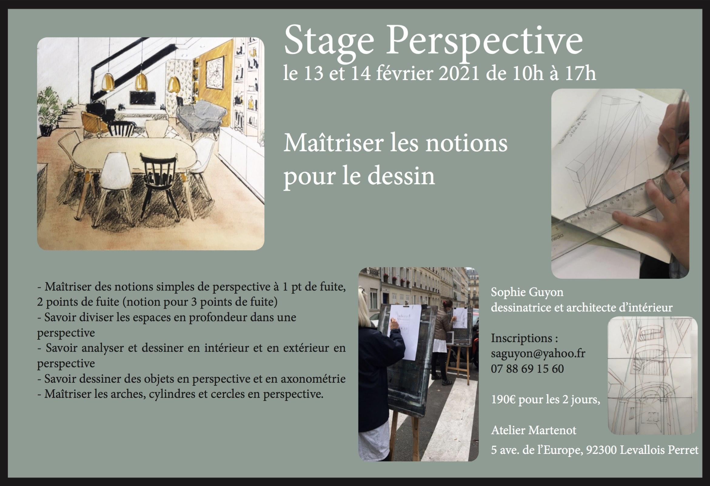 Stage de Perspective : ouvert à tous !