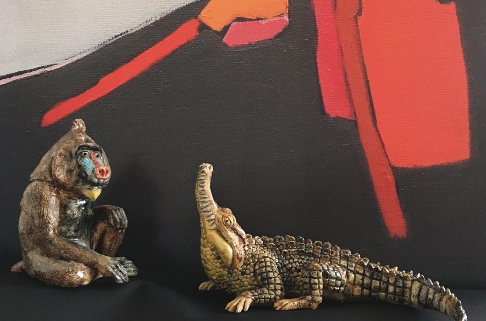 Marie-Ange Lesouëf expose à la Galerie Joseph !